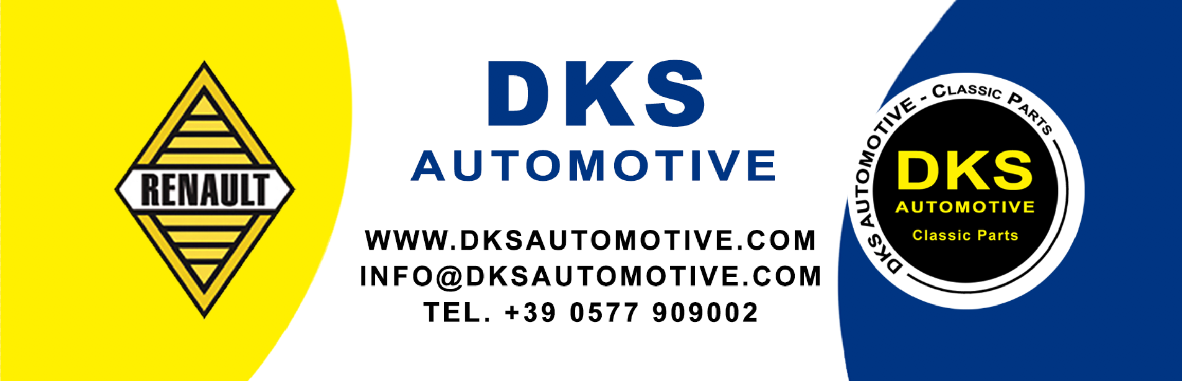DKS Automotive Classic Parts Renault R4 Citroen 2CV